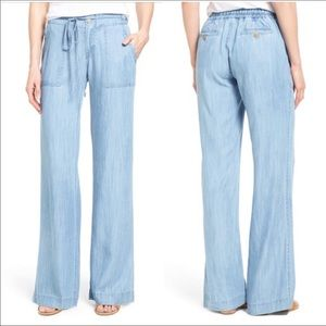 Kut From The Kloth Wide Leg Pant - Light Blue